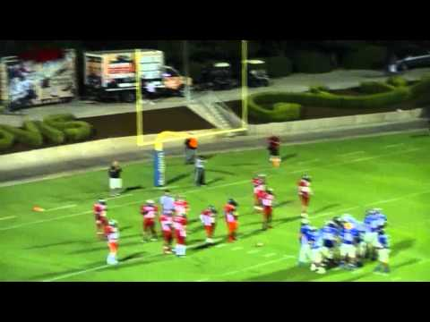 Fresno/City Vs County Football All Star Game 2012  3rd Qtr Part 6