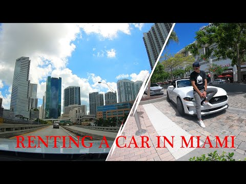 Renting A Car In Miami | Driving Downtown, Beach And More