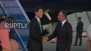 France: Canadian PM Justin Trudeau arrives in Biarritz ahead of G7 summit