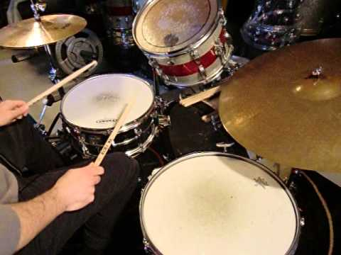 Drum Lesson MOBY DICK LIVE 1973  * The Song Remains The Same Version