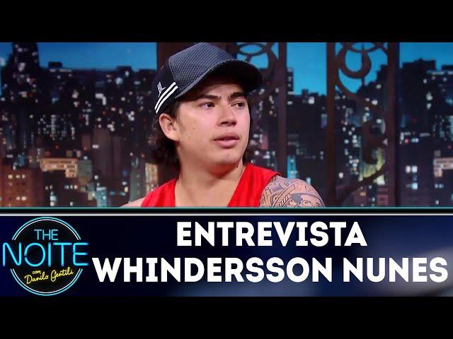 Entrevista com Whindersson Nunes | The Noite (19/03/18)