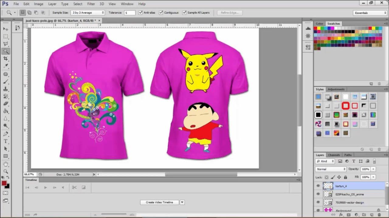 Shop Cara Mudah Membuat Desain Kaos