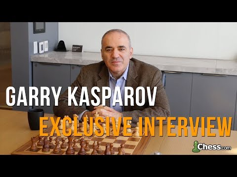 Exclusive Chess.com Interview: Garry Kasparov | 13th World C