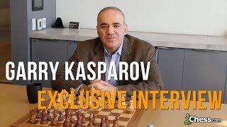 Exclusive Chess.com Interview: Garry Kasparov   13th World Chess Champion