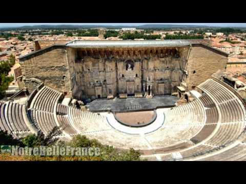 Théâtre antique d'Orange (notrebellefrance, HD, monuments de france)