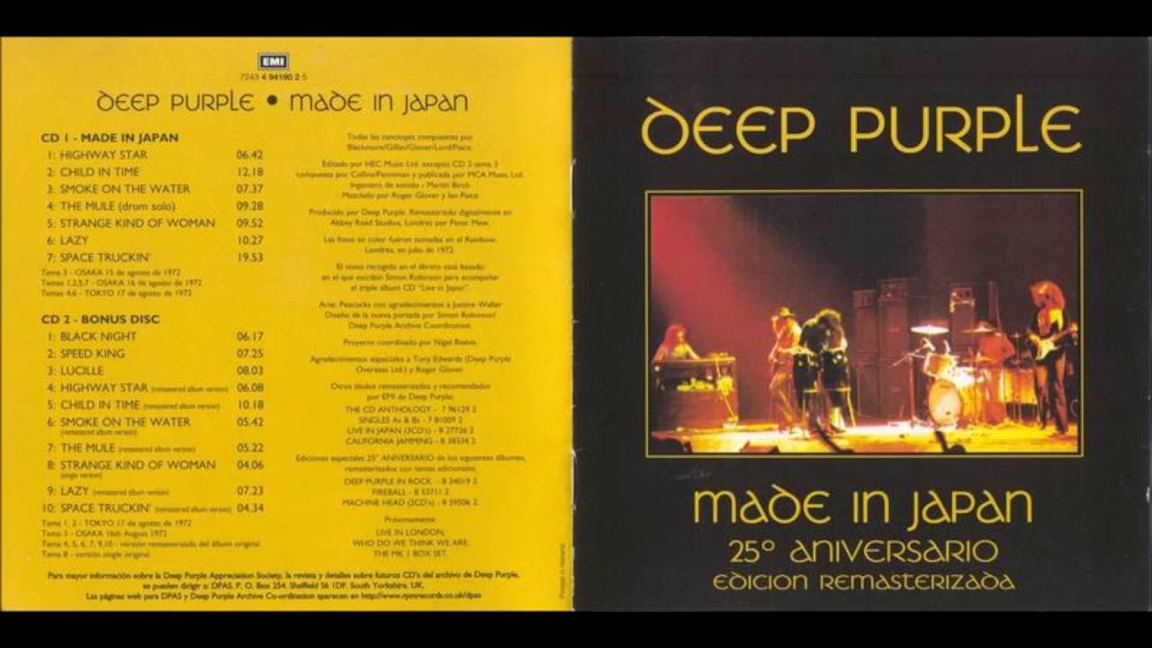 deep purple child in time made in japan 1972 youtube. Black Bedroom Furniture Sets. Home Design Ideas