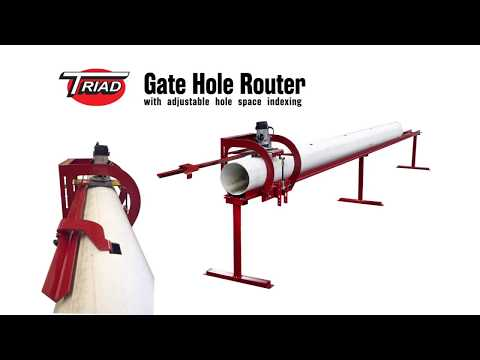 Triad Gate Hole Router (for DamGates)
