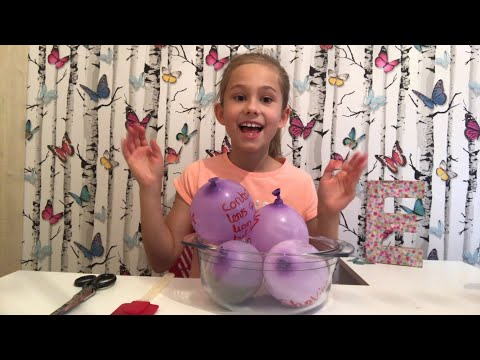 Thumbnail: Making Fluffy Slime With Balloons