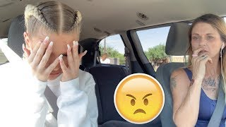 BREAK UP PRANK IN FRONT OF UBER DRIVERS (WE GET KICKED OUT)