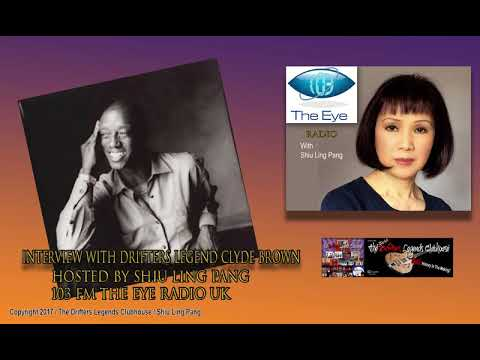 Interview With Drifters Legend Clyde Brown Hosted by Shiu Ling Pang 103 FM The Eye Radio UK