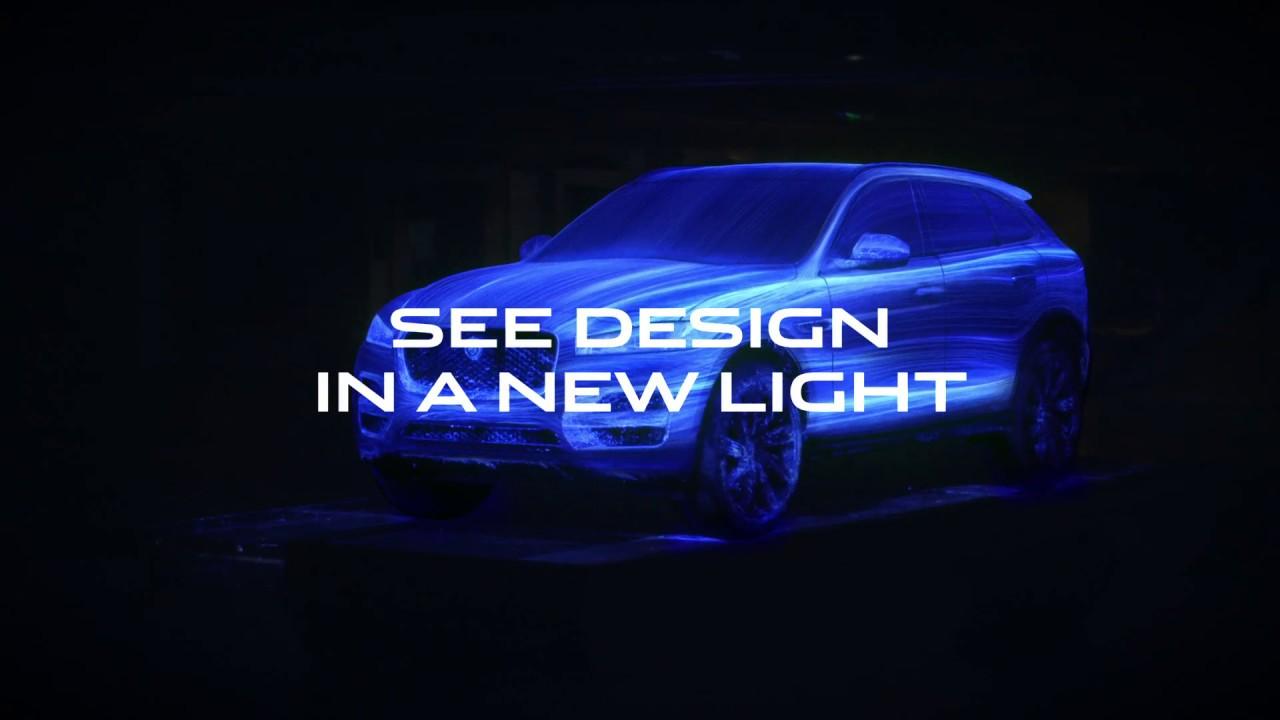 Jaguar F Pace Il Design Si Colora Di Una Nuova Luce Youtube
