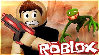 WE TRAVELLED TO THE FUTURE AND SAW THE STRANGE CREATURE THERE! -Roblox Time Machine #2