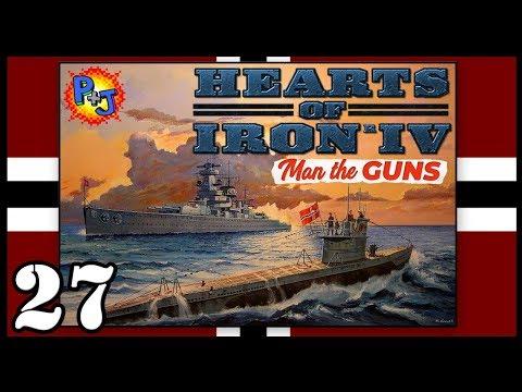 Скачать Let's Play Hearts of Iron 4 IV Germany | HOI4 1 6 Man the Guns  Gameplay | Episode 27 - смотреть онлайн - Видео