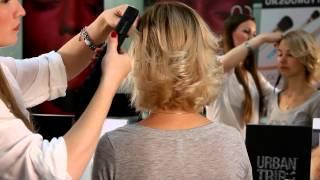 Прическа своими руками  Прическа на короткие волосы с помощью утюжка