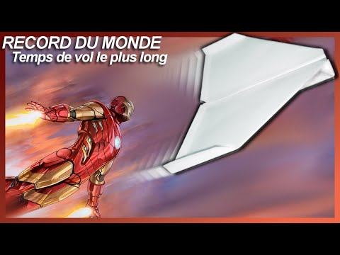 Comment faire un avion en papier. Record du Monde! Avion #4 - How to Make a Paper Airplane