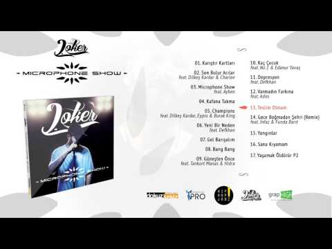 Joker - Teslim Olmam (Official Audio)