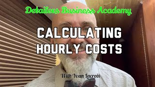 Calculating hourly cost