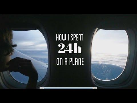 24H ON A PLANE IN 24MIN ( BUSINESS CLASS, PREMIUM, ECONOMY) Canada to Australia