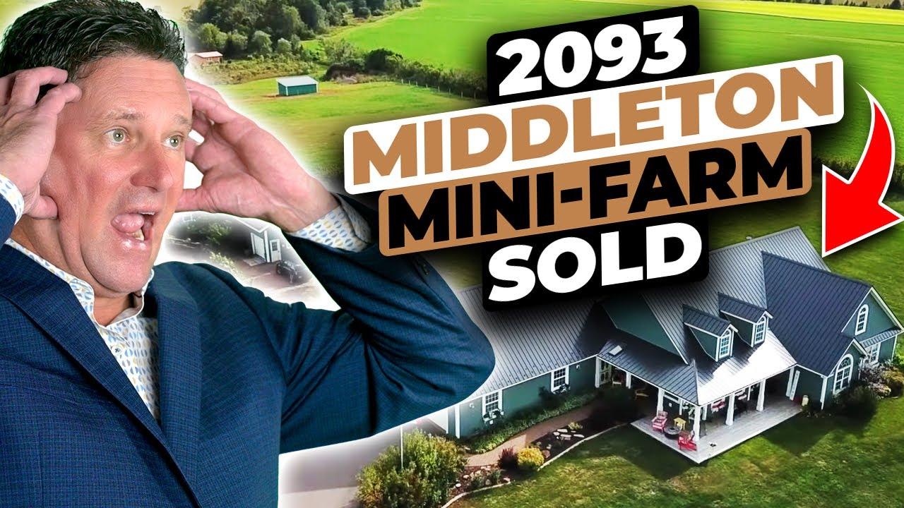 Prince Edward Island Horse Farm/Mini-Farm for sale on acreage 2093 Middleton Road