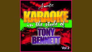 When Joanna Loved Me (In the Style of Tony Bennett) (Karaoke Version)