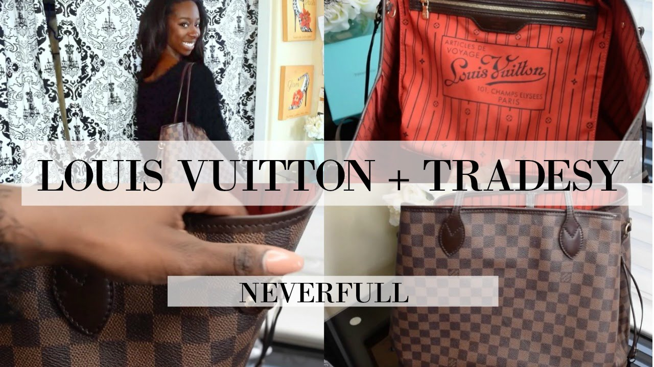 3ec967a19213 Louis Vuitton + Tradesy Review Neverfull GM - YouTube