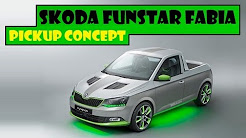 Skoda FUNstar Fabia Pickup Concept, 2015 Fabia 5-door model turned by 2 girls and 21 boys
