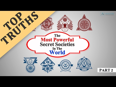 Most Powerful Secret Societies In The World (part 2)