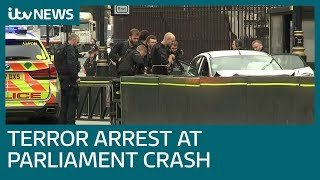 Westminster 'terror attack': Several hurt in Parliament car crash  | ITV News