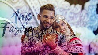 MALAYSIA INDIAN MUSLIM WEDDING (Kuala Lumpur ) : Anis & Fazira // Reception By NEXT ART