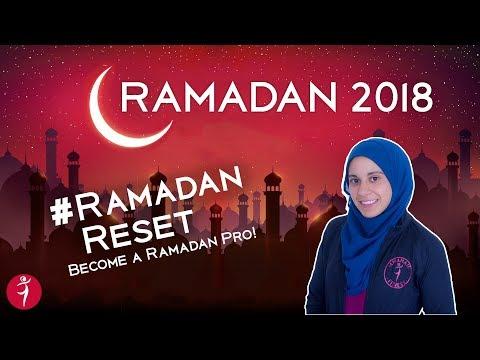 Ramadan 2018: Master Your FITNESS, SLEEP & NUTRITION this Ramandan!!