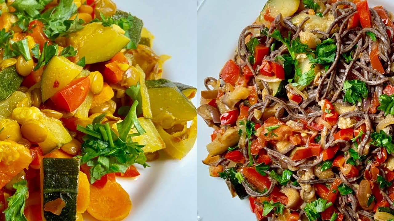 2 Healthy Vegetable Recipes For Weight Loss - YouTube