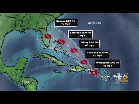 New Yorkers With Ties To Dominican Republic, Puerto Rico Tracking Approaching Tropical Storm