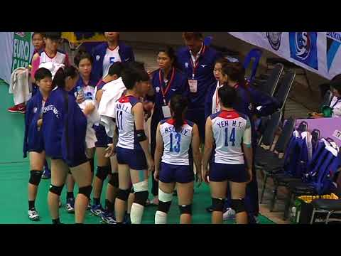 SMM 12th Asian Est Cola Women's U17 Volleyball Championship / IRI vs TPE