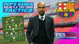 Pep guardiola's 2009/2010 false 9 tiki-taka style at barcelona as requested. please note - best formation & tactics and manager differ. tacti...