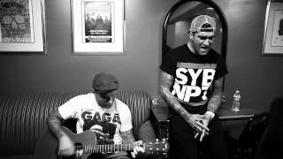 Chad and Jordan from New Found Glory performed 3 Nervous Energies s...