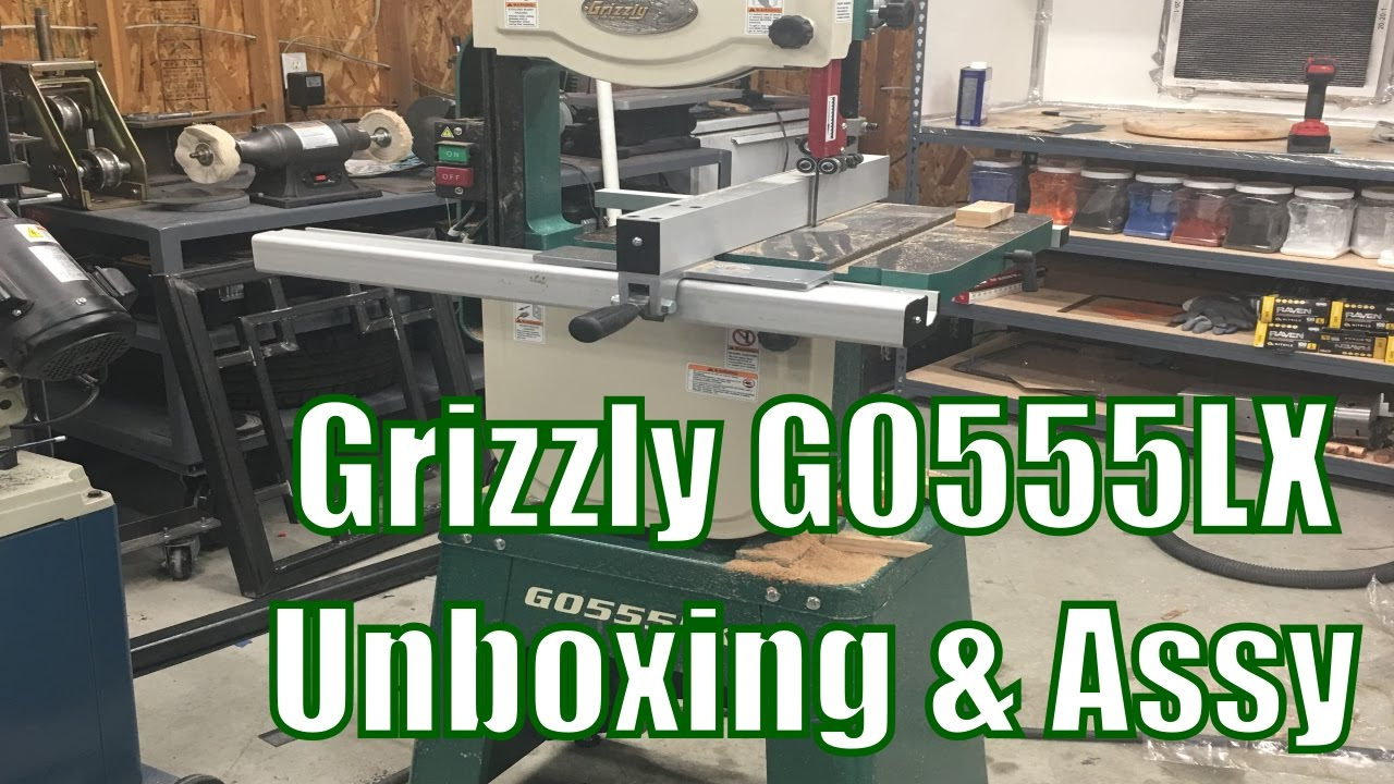 New Tool Day: Grizzly G0555LX Unboxing and Assembly