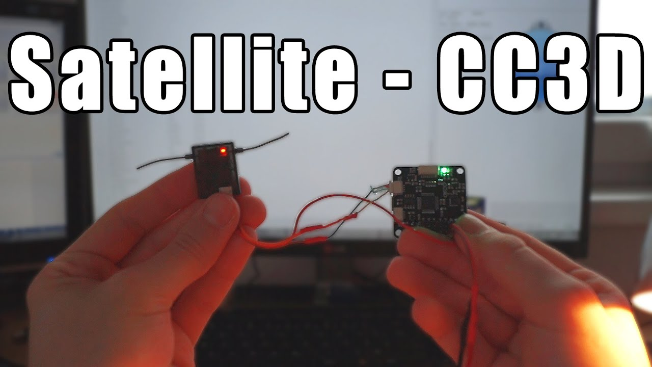 hight resolution of how to hook up a satellite to cc3d fast and easy youtubehow to