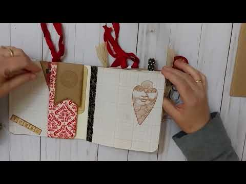 All's Fair in Love Altered Composition Book - DT for Canvas Corp Brand Crew