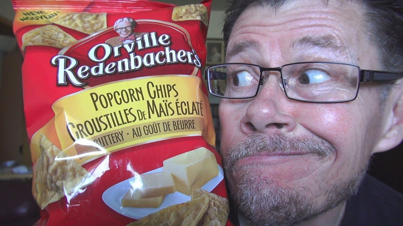 Orville Redenbacher Popcorn Chips Review - YouTube