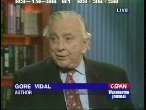 Gore Vidal on Washington Journal (1/2)
