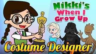 When I Grow Up: Costume Designer | How To Design Costumes