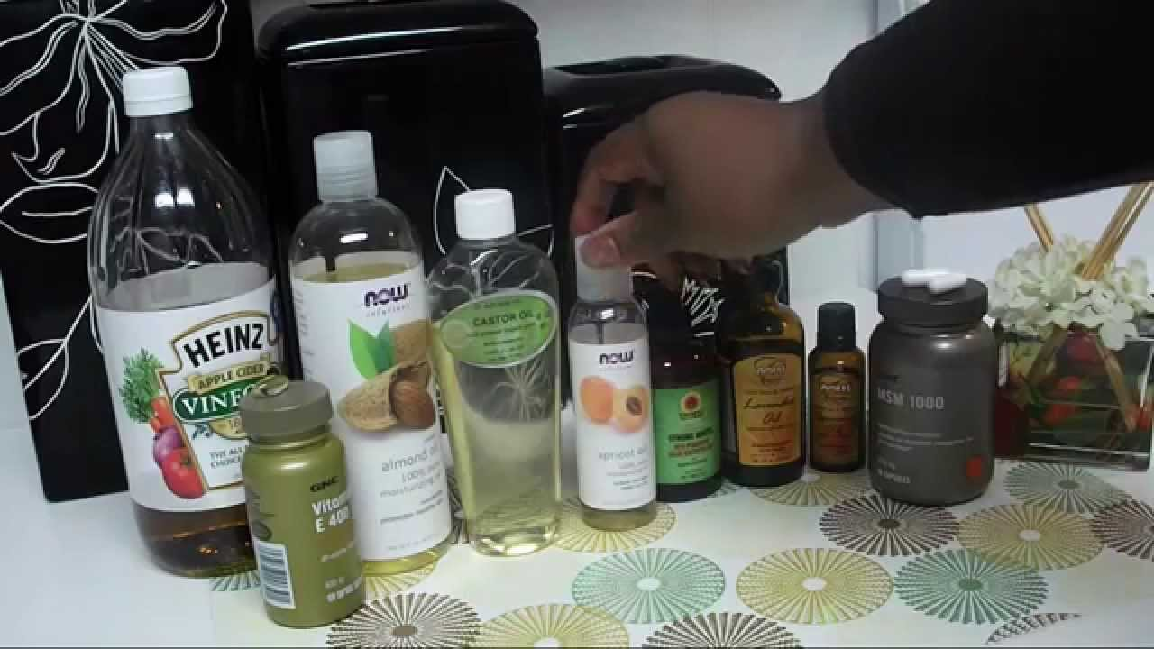 How To Make All Natural Hair Stimulating Growth Hot Oil Treatment