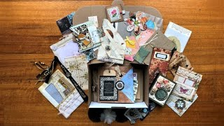 Treasure Boxes Full of Handmade Goodies and Ephemera (Etsy Restock)