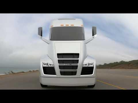 Woww! Nikola Motor Company Unveil Hydrogen Truck | The Best Semi Truck