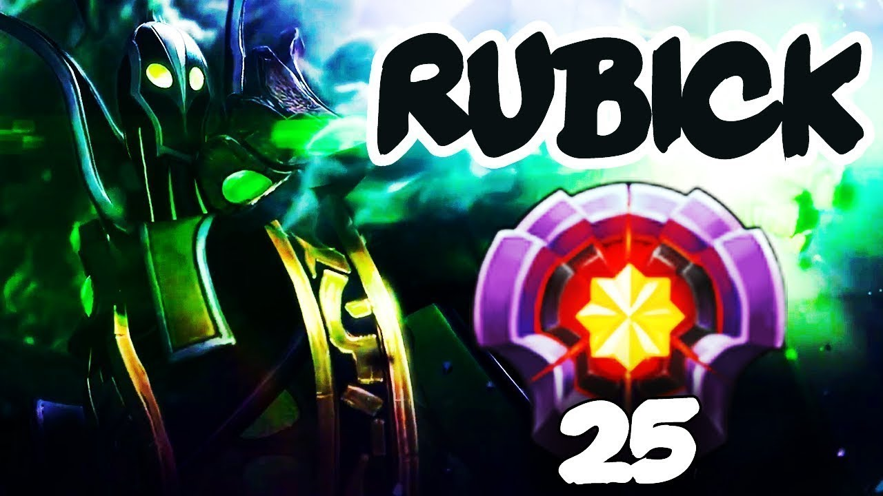 First Level  Rubick Dota  Epic Gameplay Compilation