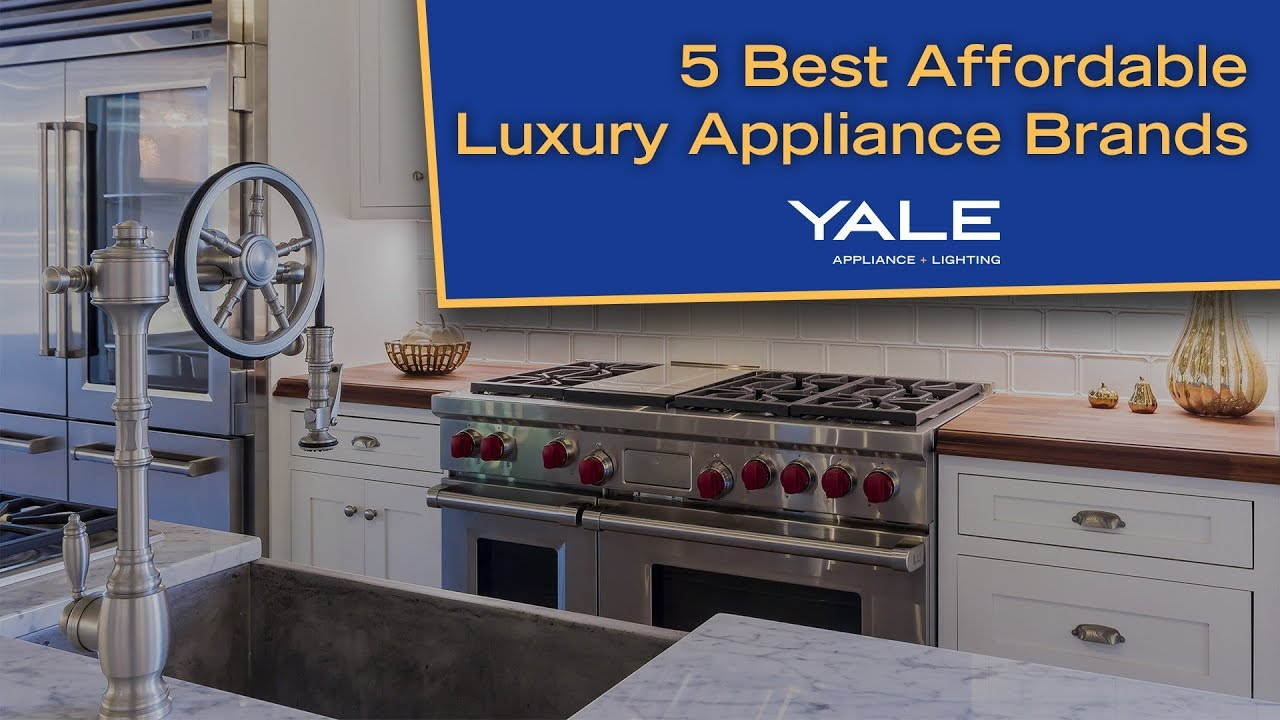 What Are \'Affordable Luxury\' Appliances?