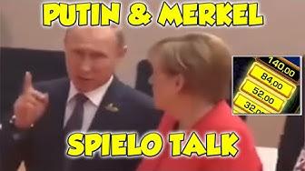 Vladimir PUTIN & Angela MERKEL reden über die Spielothek - Merkur Magie RISIKOLEITER