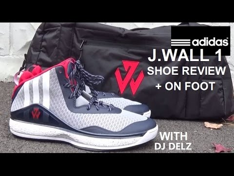 c69e7afe39e60 adidas John Wall 1  JWALL1 Washington Wizards Sneaker Detailed Review With   DjDelz