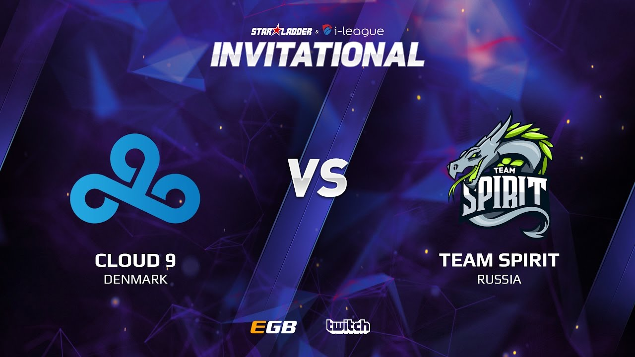Cloud 9 vs Team Spirit, Game 1 SL i-League Invitational S2, EU Qualifier