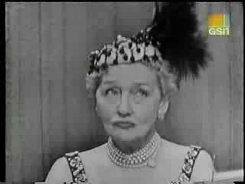 Hedda Hopper on What's My Line?